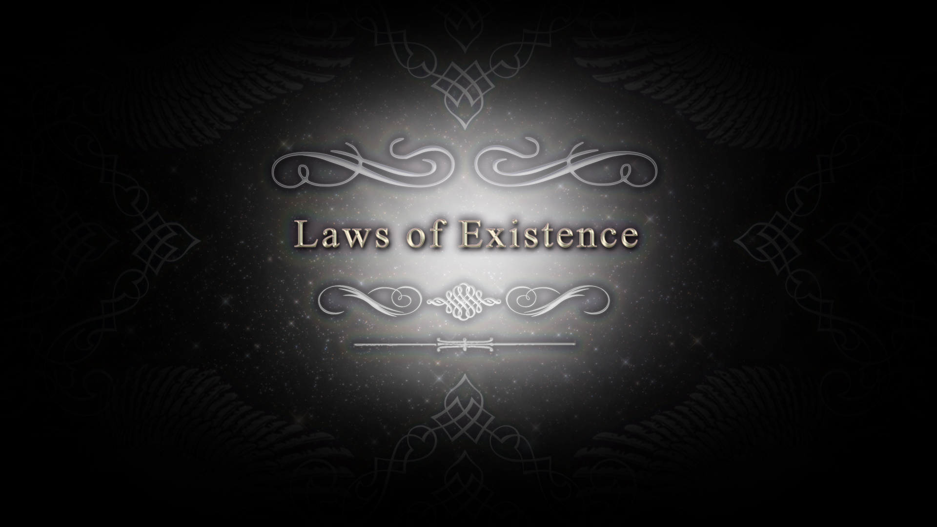 Laws of Existence CM title