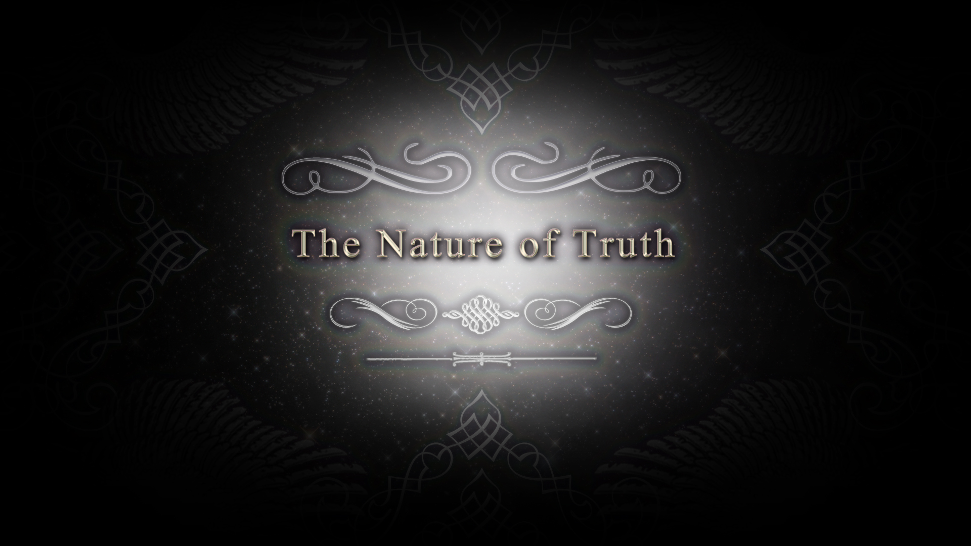 The Nature of Truth CM title